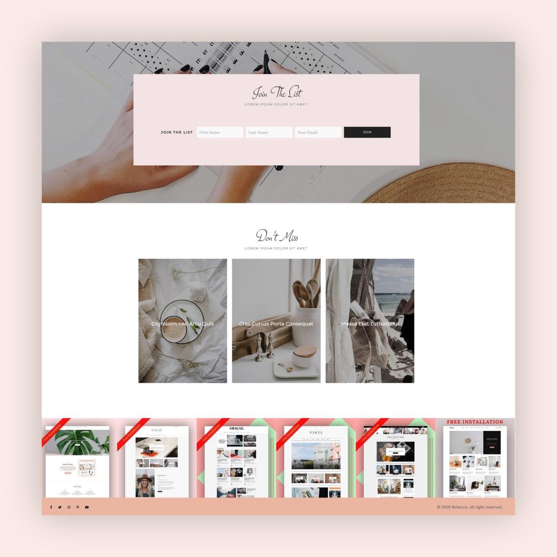 Rebecca - WordPress Blog and Shop Theme-5
