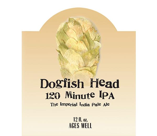 DOGFISH HEAD 120 MIN IPA