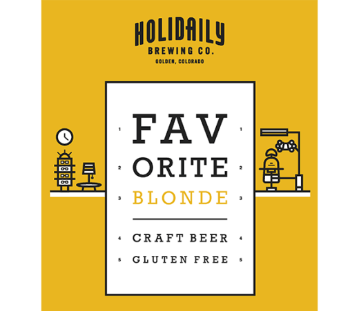 HOLIDAILY FAVORITE BLONE ALE