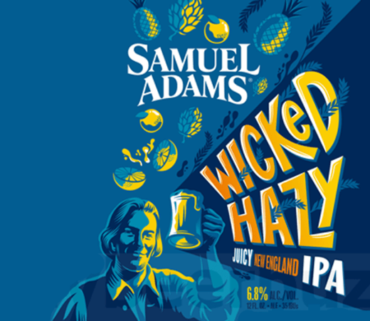 SAM ADAMS WICKED HAZY