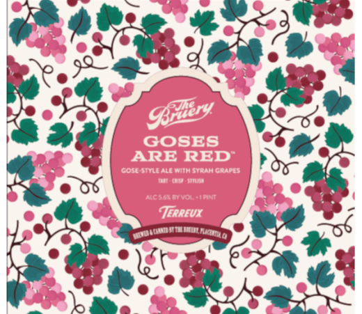 THE BRUERY GOSES ARE RED