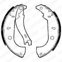 Juego de 4 zapatas de freno FIAT Fiorino (146) 93 1.4 ie