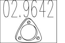 Junta, tubo de escape FIAT Brava (182) 1.2 i 16V 82cv