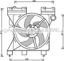 Ventilador, refrigeración del motor CITROËN Xsara Picasso