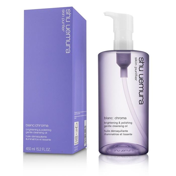 Shu Uemura New Zealand - Blanc:Chroma Brightening & Polishing Gentle Cleansing Oil by Shu Uemura | Fresh™