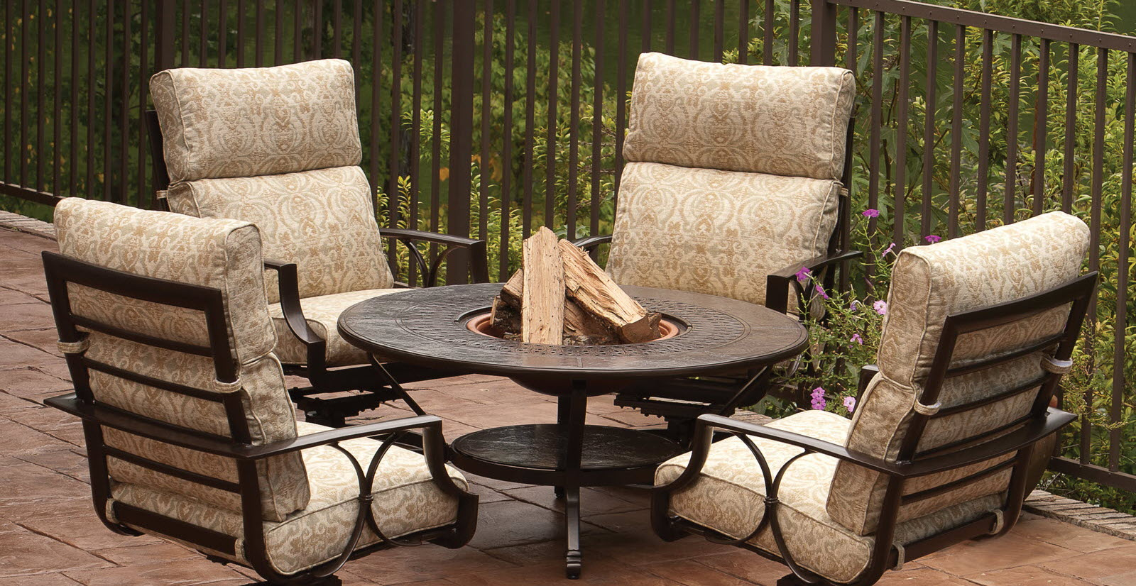 Firepit Chairs Dining Table Fire Pit Dining Table Chairs