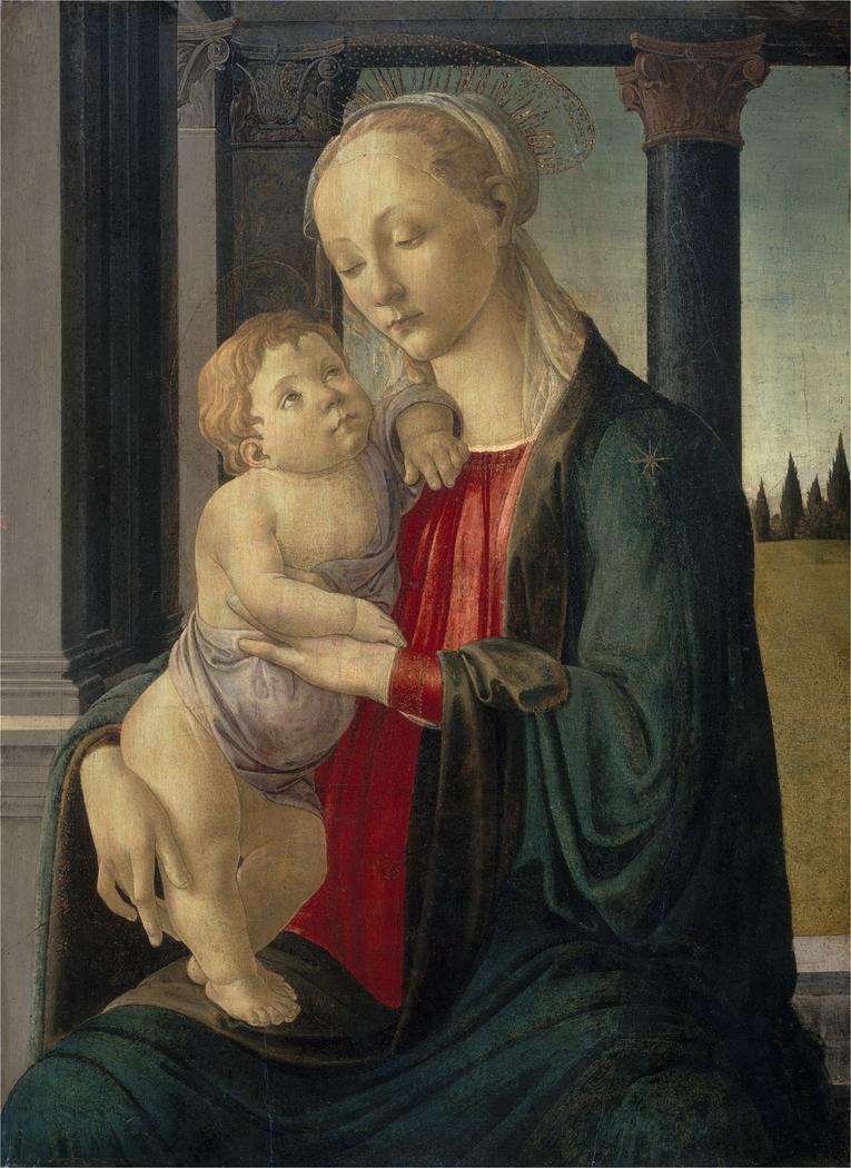 Madonna And Child Botticelli Avignon : madonna, child, botticelli, avignon, Madonna, Child