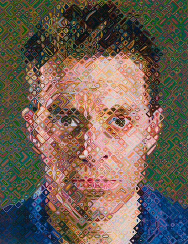 """james"" Chuck Close - Artwork Useum"