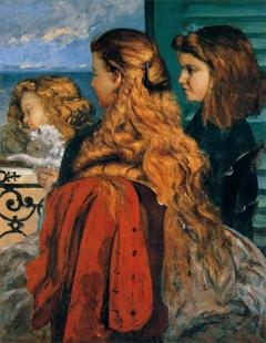 Les Demoiselles Des Bords De La Seine : demoiselles, bords, seine, Study, Demoiselles, Bords, Seine, (Été), (Girls, Banks, (Summer))