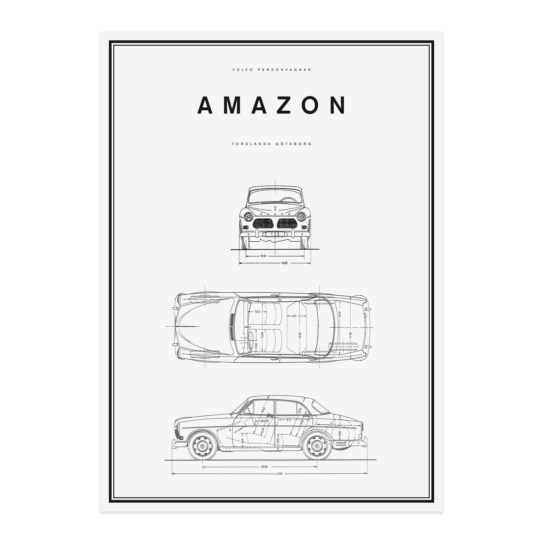 Volvo Car Lifestyle Collection Shop. Amazon Line Drawing