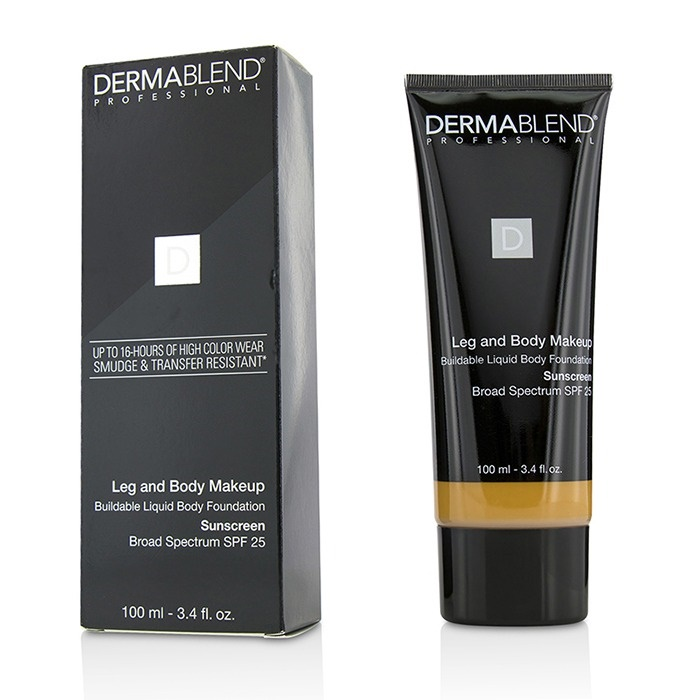 Dermablend Leg And Body Makeup Buildable Liquid Body