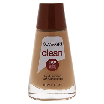 Image result for covergirl clean liquid foundation 155