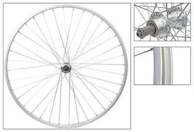 Wheel Rear 700c Weinmann AS23x Silver SFQR Silver 14UCP