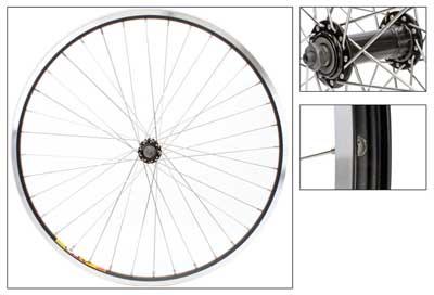 Wheel Front 26x1.5 Weinmann ZAC19 Black MSW 36 Alloy Black
