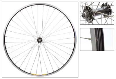 Wheel Front 700x35 Weinmann ZAC19 Black MSW 36 Alloy Black