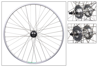 Wheel Pair 700c Weinmann LP18 Silver NMSW 36 FORM Silver