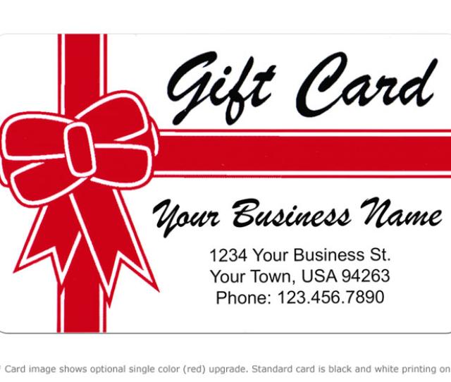 Alternate Image For Gift Card Design