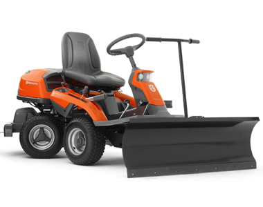 snow plow blades get closer to the ground than snow blowers and are easily mounted on many models of snapper lawn tractors. Husqvarna 48 Inch Rider Mount Snow Blade Snowblowersatjacks
