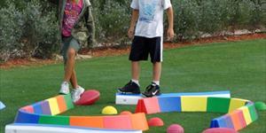 Développement de l'équilibre dans les golfeurs juniors