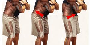 Inclinaison antérieure et le contrôle pelvien