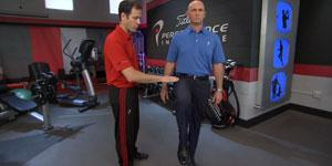 La seule jambe Balance Test