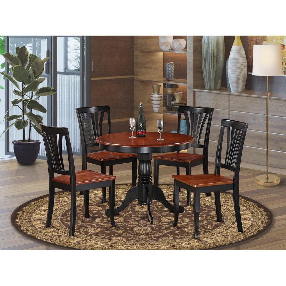 5 Pc Small Kitchen Table Set Small Kitchen Table And 4 Dining Chairs