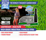Home | The Official Site for Metal Garden Hose!