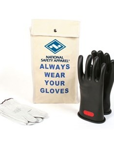 Glove kit inch class rubber voltage gloves also arc flash rated  accessories rh frsafety