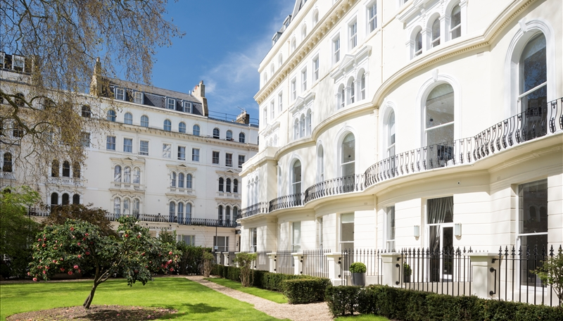 Garden House Apartments Bayswater London W2  Residential Land