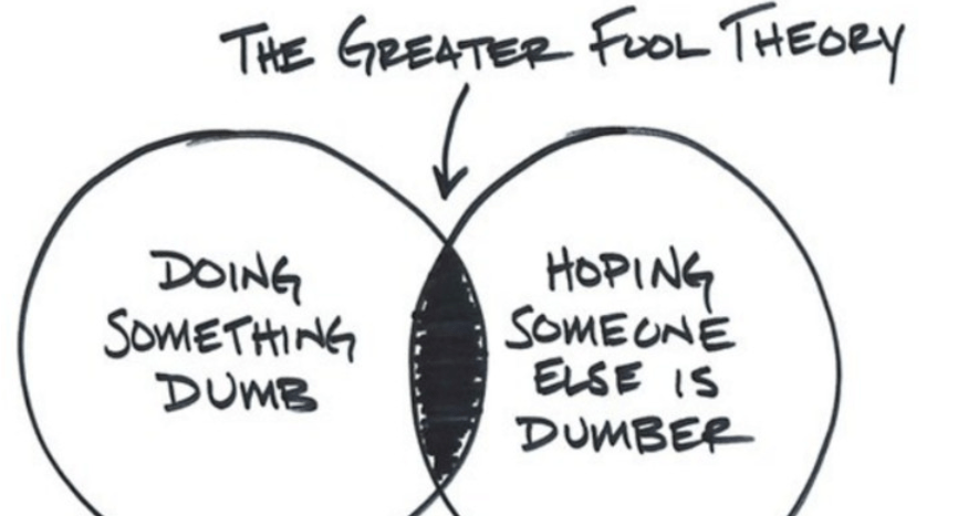 The greater the story, the greater the bubble