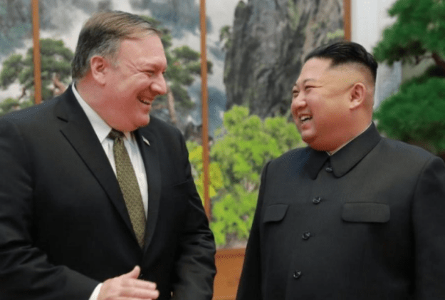 Comments from Pompeo in iran and north korea