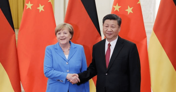 German Chancellor Merkel spoke with China's President Xi and EUCO President Michel today about the planned EU China meeting in Leipzig.