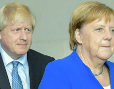 Merkel, Johnson condemn Iran's arrest of UK ambassador