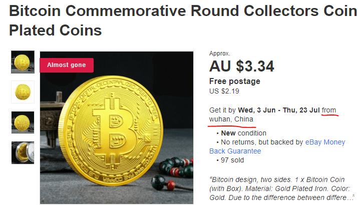 gold bitcoin wuhan