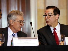 US Treasury Secretary Mnuchin says he spoke with Federal Reserve Chair Powell today