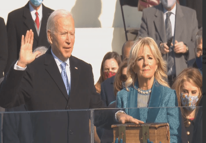 Biden sworn in as 46th US President