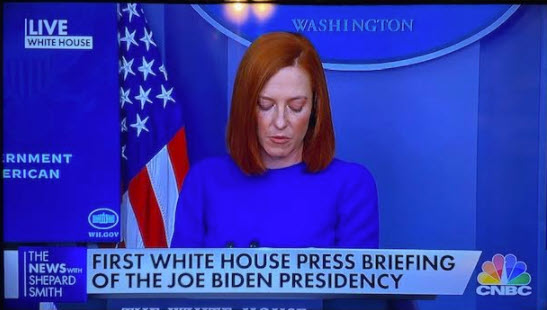White House Press Secretary Psaki