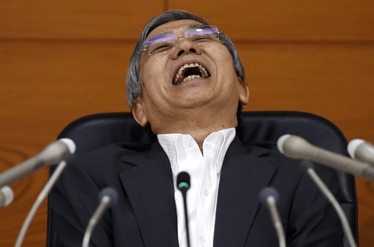 ICYMI, the BOJ is the hot new 'meme' stock, surging this week.