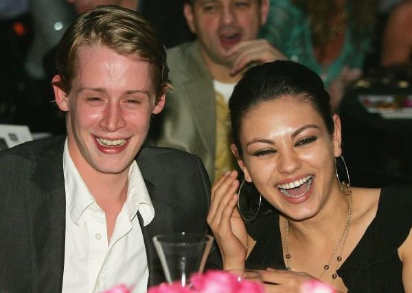 Macaulay Culkin and Mila