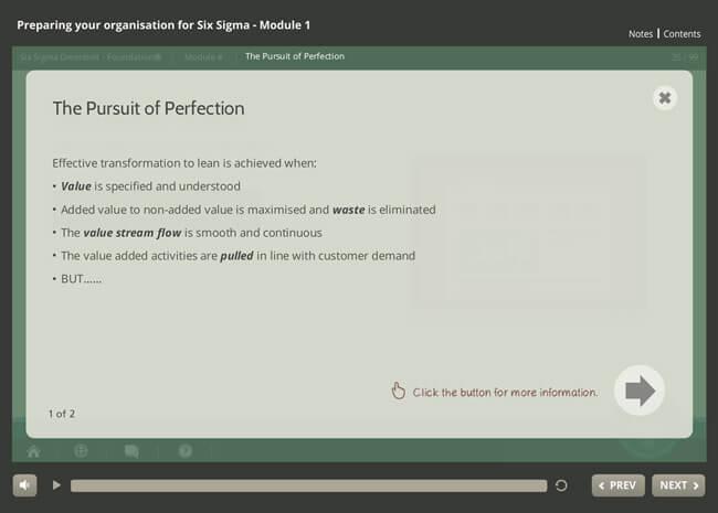 ISO 18404 Lean & Six Sigma: Preparing Your Organization Screenshot 6