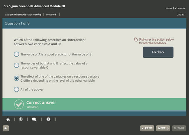 Six Sigma Green Belt Advanced (level 1 & 2) Screenshot 5