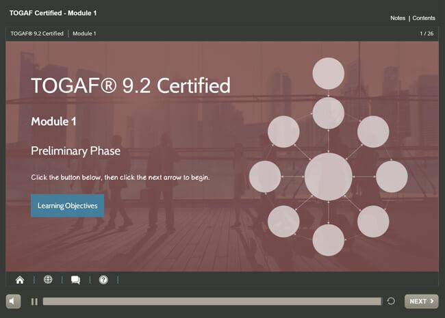 TOGAF® 9.2 Certification (level 1 & 2) Screenshot 6