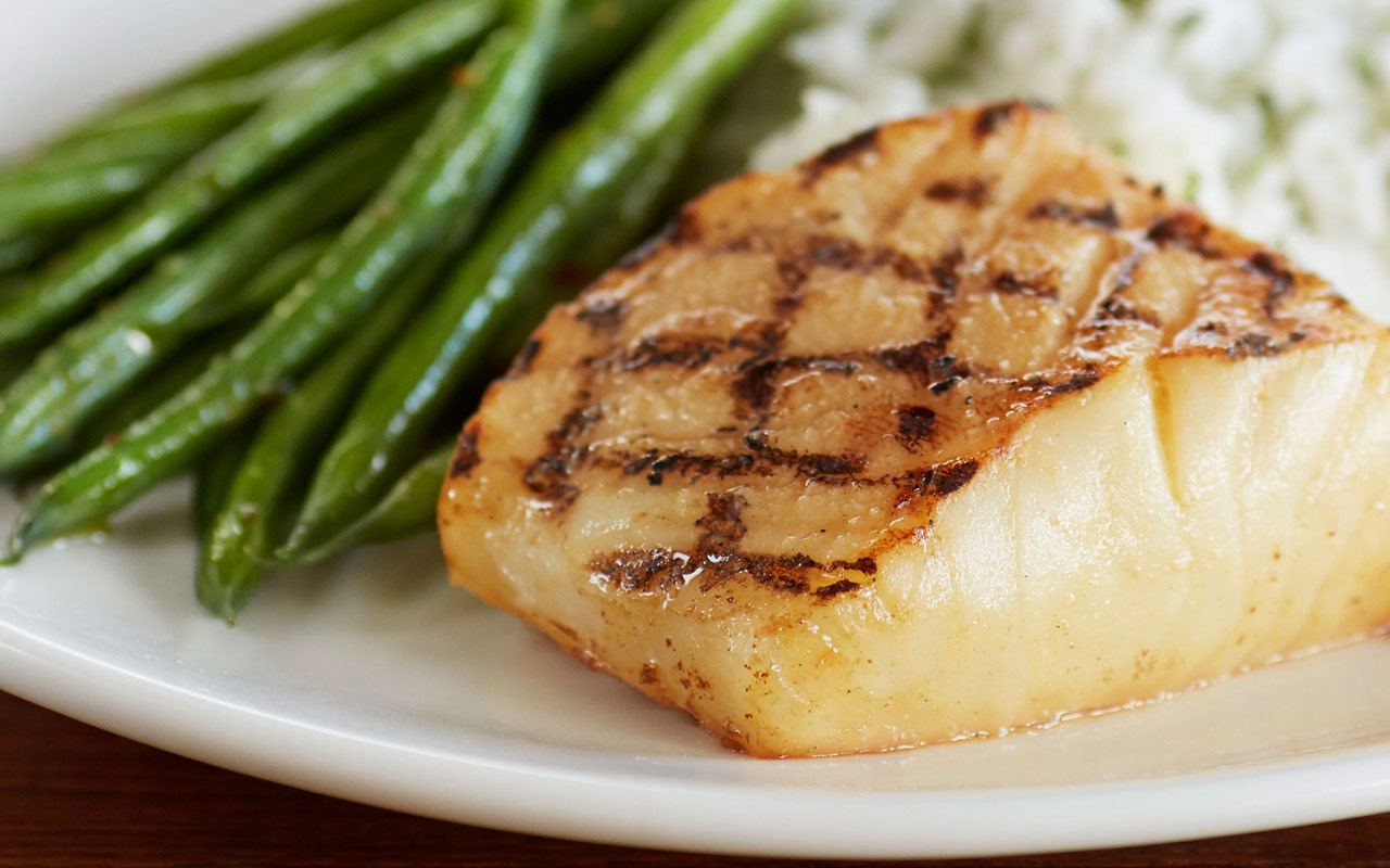 Wood Grilled Fish for Brunch at Bonefish Grill