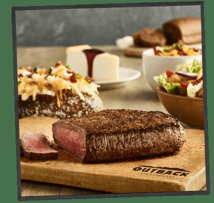 outback steakhouse kids menu