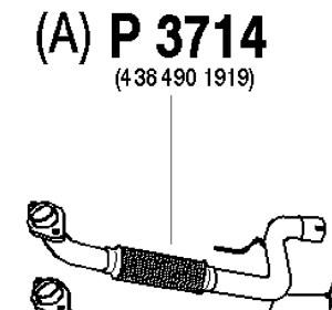 Avgassystem Standard, flexrör & grenrör till bilen