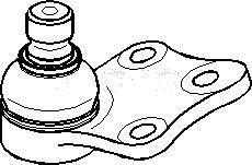 Kulled / Spindelled, Fram, höger eller vänster, Höger