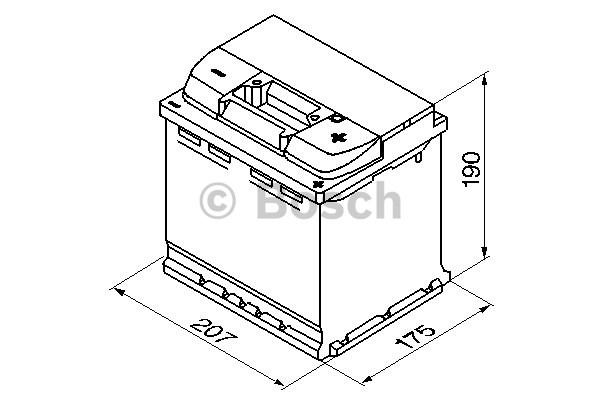 300023 Startbatteri ALFA ROMEO 145, 146, 156, 156