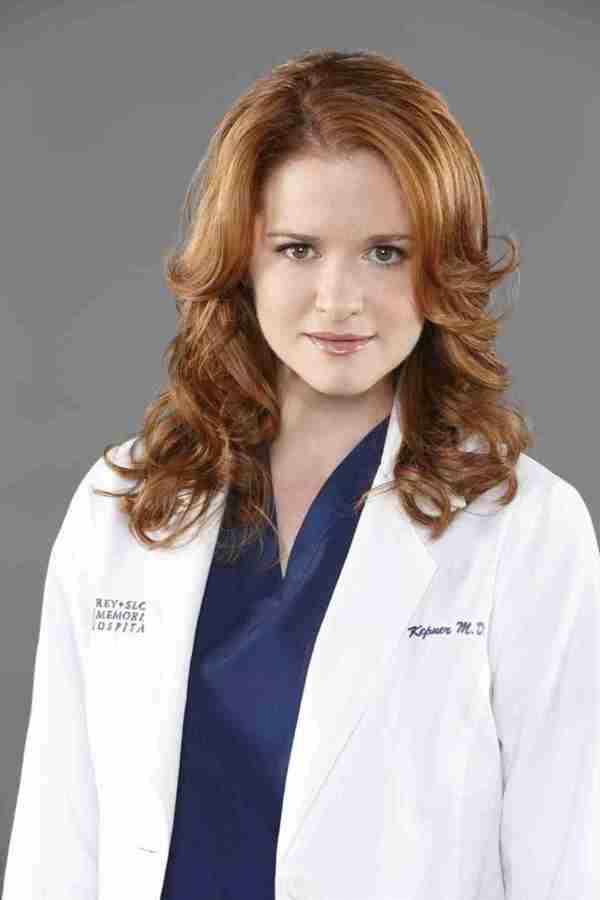 Grey' Anatomy' Sarah Drew Pregnant With Baby . 2 Bump