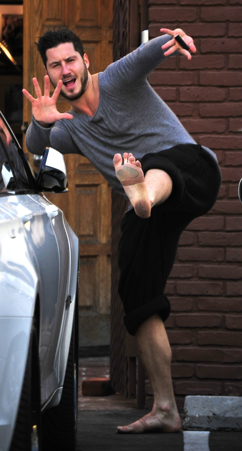 Karate With The Stars Val Chmerkovskiy Shows Off His