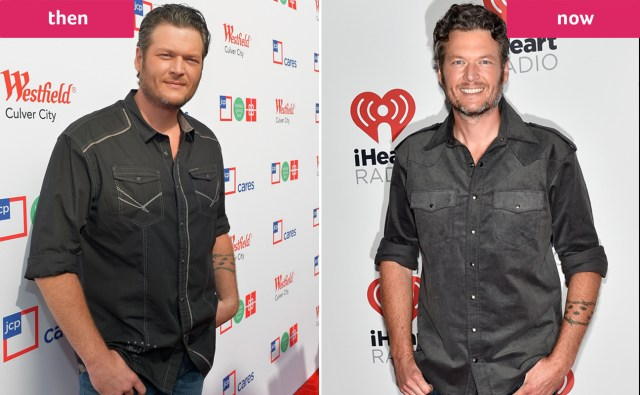 Image result for Blake shelton weight before and after